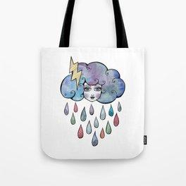 Today I am a Storm Cloud Tote Bag