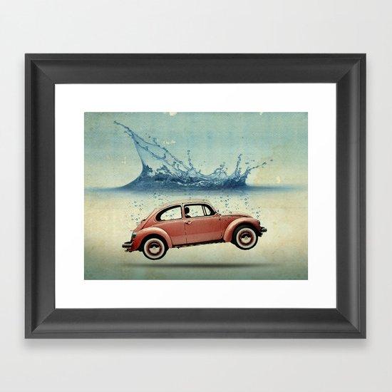 Drop in the Ocean Framed Art Print