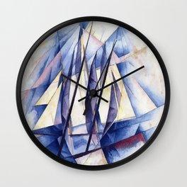 Sail Movements Wall Clock
