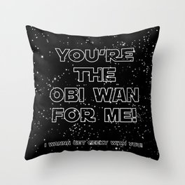 Star Crossed lovers 3 Throw Pillow