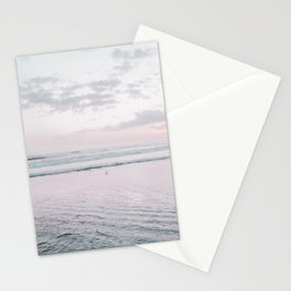 Pastel Beach I Stationery Cards