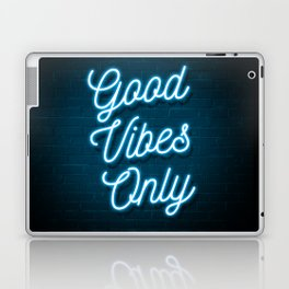 Good Vibes Only - Neon Laptop & iPad Skin
