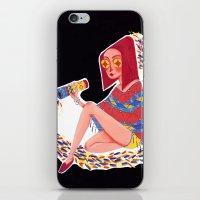 kaleidoscope iPhone & iPod Skins featuring Kaleidoscope by Hannah Lee Stockdale