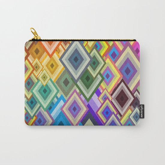 geometric colour Carry-All Pouch