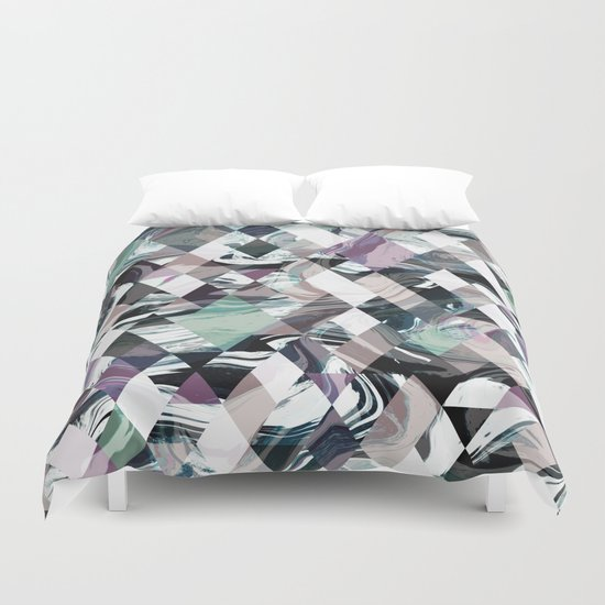 Diamond Rock Duvet Cover