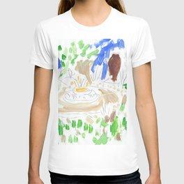 Garden Scene T-shirt