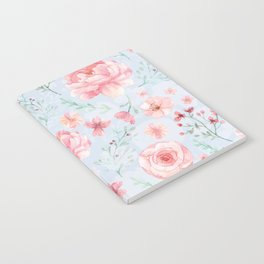 Calm and Sweety Floral Notebook