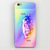 hakuna iPhone & iPod Skins featuring Hakuna Matata by Laura Santeler