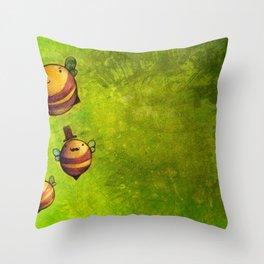 bee unique  Throw Pillow