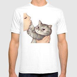 cat : hmmmmm! T-shirt