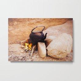 Wadi Rum, Jordan Metal Print