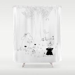 Moomin Love Shower Curtain