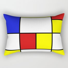 Abstract #756 Rectangular Pillow