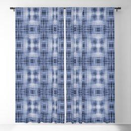 Shibori Japanese Kimono pattern Blackout Curtain