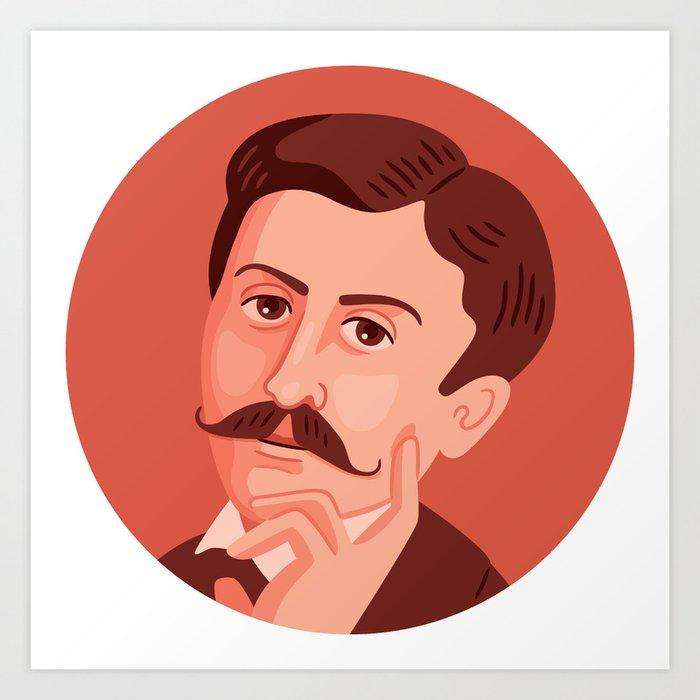 Queer Portrait - Marcel Proust Art Print