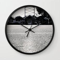 Bowling architecture Wall Clock