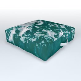 Emerald Waters Outdoor Floor Cushion