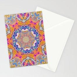 melting into meaning mandala Stationery Cards