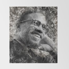 MALCOLM Throw Blanket