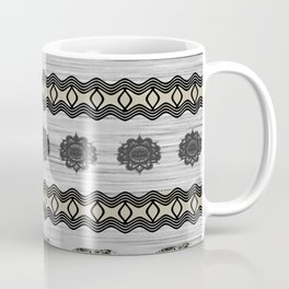 Indian Elephant Tonal Design Coffee Mug