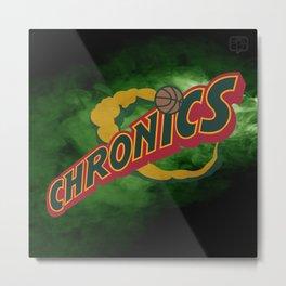 Chronics Metal Print