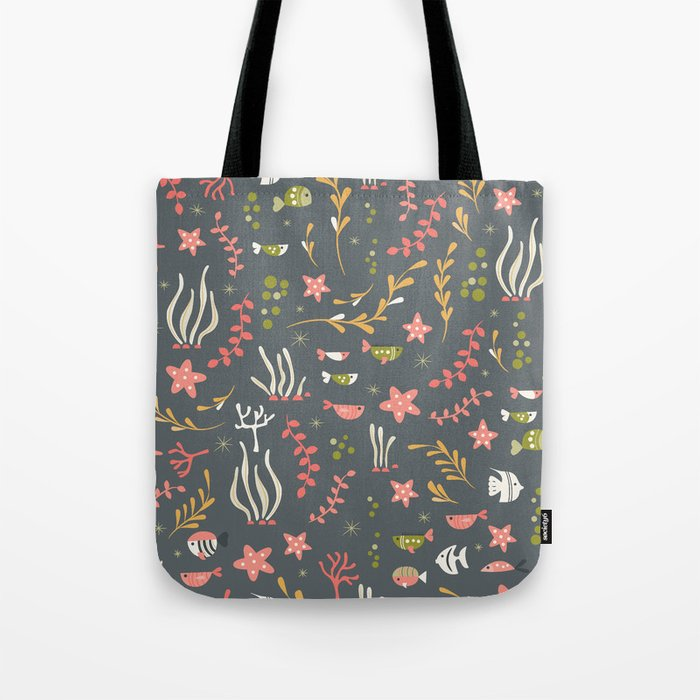 Sea creatures 007 Tote Bag