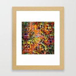 Kaleidoscope of Spring Framed Art Print