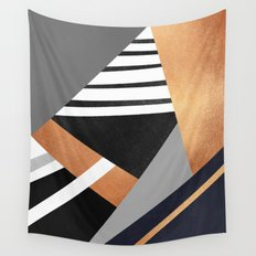 Geometric Combination V2 Wall Tapestry