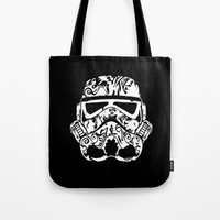 playstation Tote Bags featuring Trooper by eARTh
