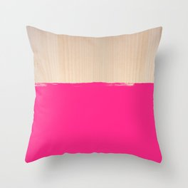Sorbet IV Throw Pillow