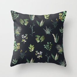 Nature at Night Throw Pillow