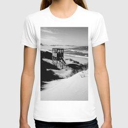 """Beach """"Lifeguard Tower"""" T-shirt"""