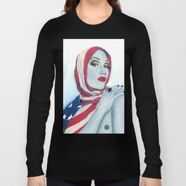American Ladyboy Long Sleeve T-shirt