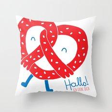 Ich Liebe Dich Throw Pillow