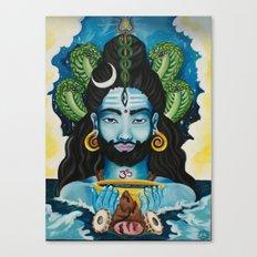Shiva Awakens Canvas Print