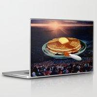 breakfast Laptop & iPad Skins featuring Breakfast by Lerson