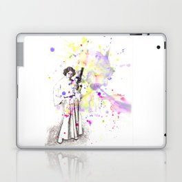 Princess Leia From Star Wars Laptop & iPad Skin