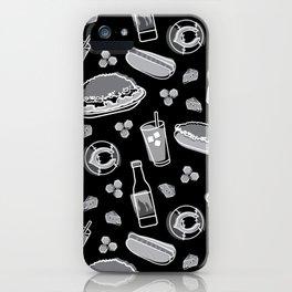 Skyline Chili Pattern Night iPhone Case