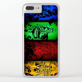 Virtues and Vices Clear iPhone Case