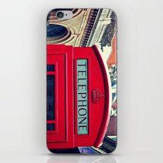 'LONDON PHONE BOX' iPhone Skin