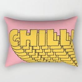 Chill Chill Chill! Rectangular Pillow