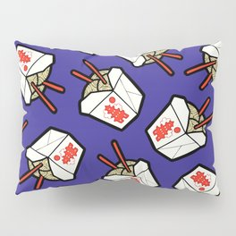 Take-Out Noodles Box Pattern Pillow Sham
