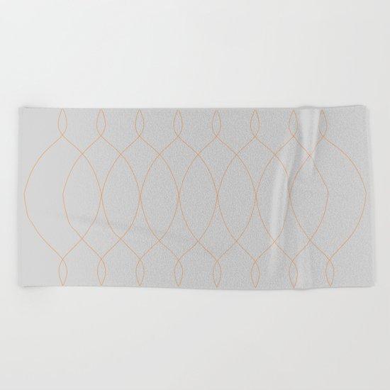 CHANDELIER Beach Towel