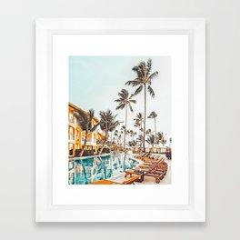 Hotel Tropicana ||| #photography #travel Framed Art Print
