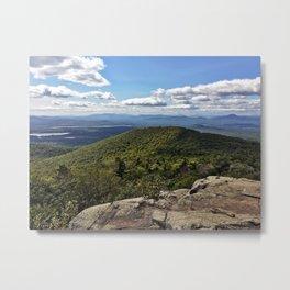 Summit View, Pleasant Mountain, Maine Metal Print