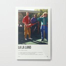 La La Land - I Ran Metal Print
