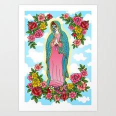 Maria De Los Muertos Art Print