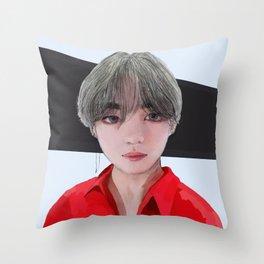 Taehyung DNA Throw Pillow