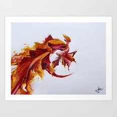 Ignite Art Print