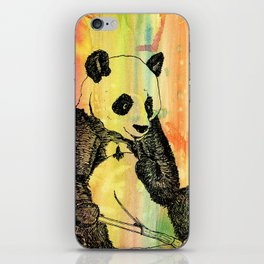 Panda Trip iPhone Skin